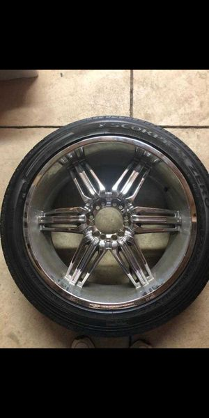 """22"""" RIMS with TIRES for Sale in Columbus, OH"""