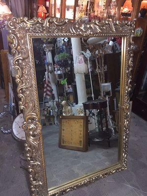 Large vintage gold framed mirror for Sale in National City, CA