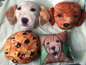 Dog plush pillow for Sale in Gardena, CA
