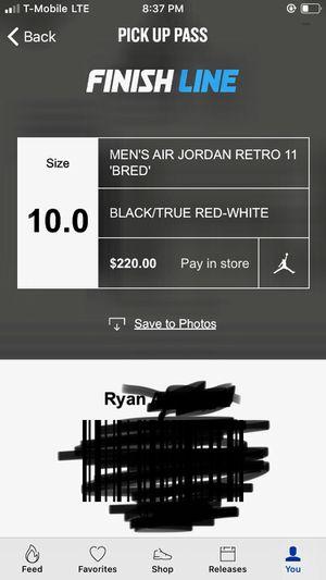 Air Jordan Retro 11 Bred 2019 for Sale in Austin, TX