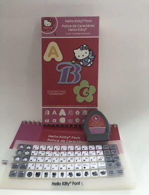 Hello Kitty Font Cricut Cartridge for Sale in Lutz, FL