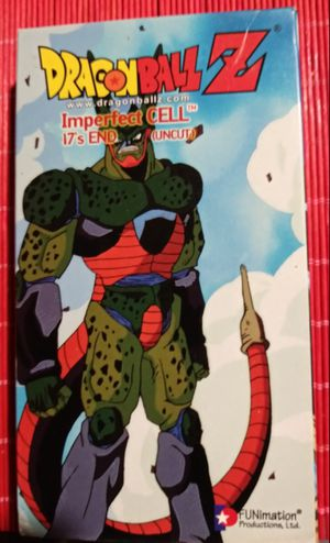 DRAGONBALL Z VHS for Sale in Kissimmee, FL