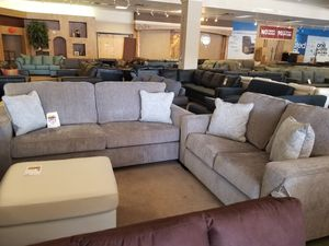 SPECIAL *** Grey Sofa and Loveseat Set *** for Sale in Phoenix, AZ