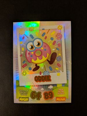 Moshi Monsters Mash Up! Oddie Foodies Rare Foil Trading Card for Sale in Manassas, VA