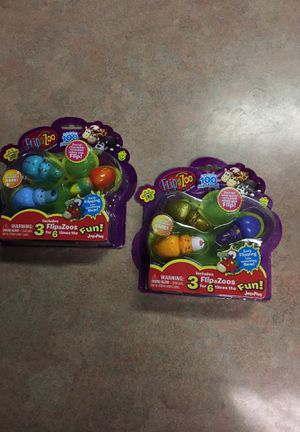 Brand new, flip a zoo collectibles, Series 1! These have never been opened. for Sale in Lampasas, TX