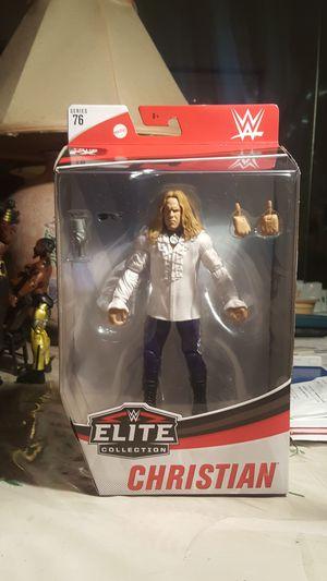 WWE ELITE 76 CHRISTIAN NEW MOC FIGURE for Sale in Teaneck, NJ