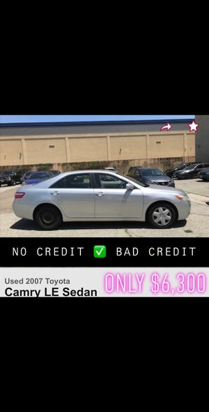 2008 Toyota Camry le silver automatic bad credit finance lease car dealer uber lease for Sale in Long Beach, CA