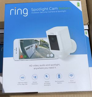 Ring spotlight camera for Sale in Rancho Cucamonga, CA