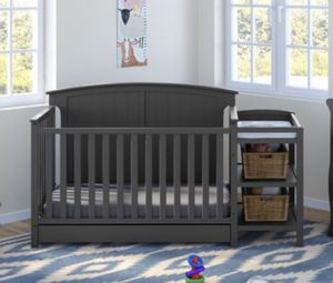 Brand new Crib with Changing table and mattress for Sale in Phoenix, AZ
