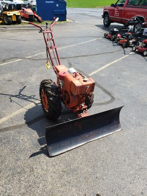 "Simplicity ""W"" walk behind Tractor with dozer blade for Sale in St. Charles, IL"