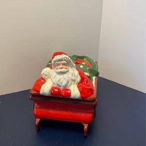 Santa Candle Holder Decoration for Sale in Scottsdale, AZ