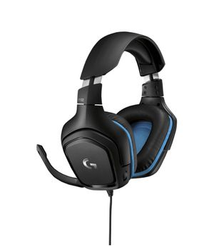 Logitech 981-000536 G430 7.1 Gaming Headset with Mic Black/Blue (Refurbished) without Box for Sale in Harker Heights, TX