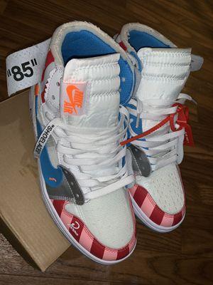 "Nike air Jordan 1 ""off white"" Unc Parra **RARE FIND** for Sale in Atlanta, GA"