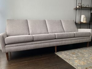 Folke Ohlsson for DUX 66-s4 collectible sofa, newly reupholstered for Sale in Pleasanton, CA