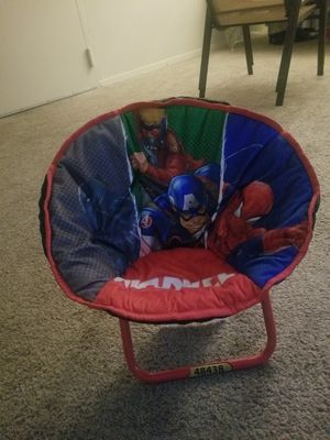 Marvel Mini Saucer Chair for kids ages 0-2yrs for Sale in College Park, MD