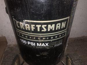 Craftsman Professional 27 Gallon Compressor for Sale in Centreville, VA