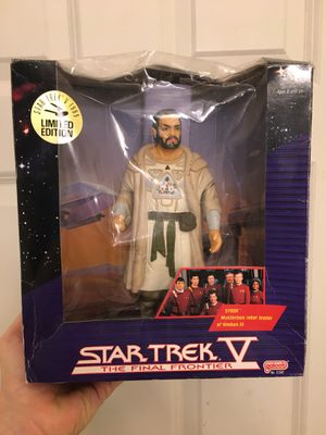 "Star Trek V Final Frontier Vintage 1989 Final Frontier Sybok 7.5"" Action Figure for Sale in Sandy Springs, GA"