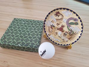 Art craft decoration display plate with stand China Asia for Sale in Pinecrest, FL