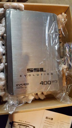 Sound Storm Lab 400w amplifier for Sale in Kernersville, NC