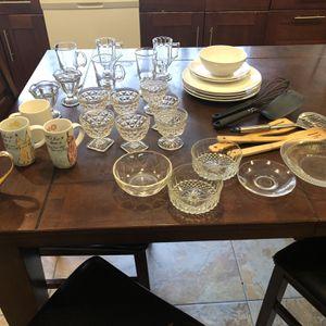 Glasses, Dinnerware for Sale in Bellevue, WA