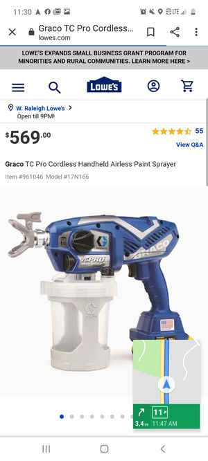 Graco cordless for Sale in Raleigh, NC