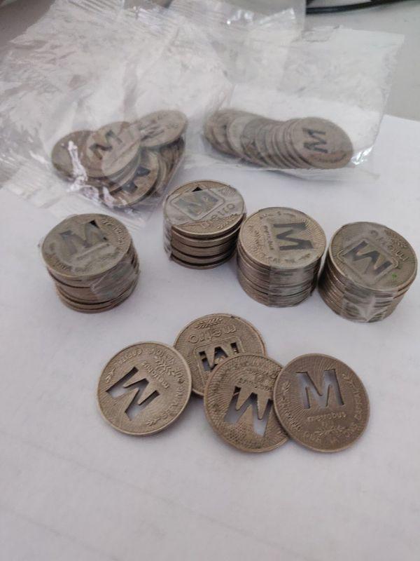 Metro bus tokens