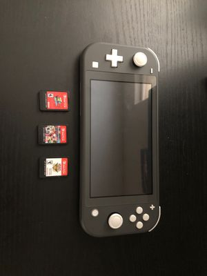 Nintendo Switch Lite Gray for Sale in Irving, TX
