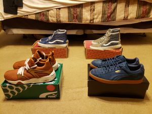 Puma and Vans size 11 for Sale in Hollywood, FL