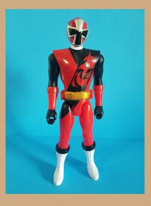 """Power Rangers Ninja Steel - Red Ranger 12"""" Action Figure for Sale in Sanford, FL"""