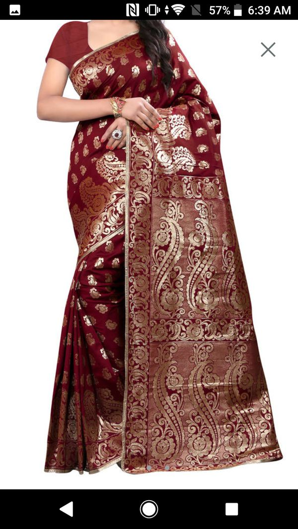 Banarashi silk saree