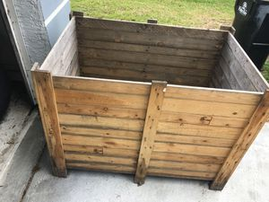 3 x3 x 4 wooden box -heavy for Sale in GRANT VLKRIA, FL