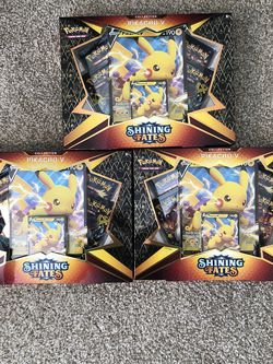 Pokémon TCG Shining Fates Pikachu V Collection Box 🔥 for Sale in Los Angeles,  CA