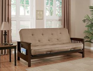 Wooden Futon Couch for Sale in Los Angeles, CA