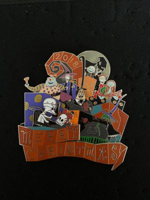 Haunted Mansion Nightmare Before Christmas Holiday 2018 Pin Jumbo LE 1000 Disneyland for Sale in Los Angeles, CA