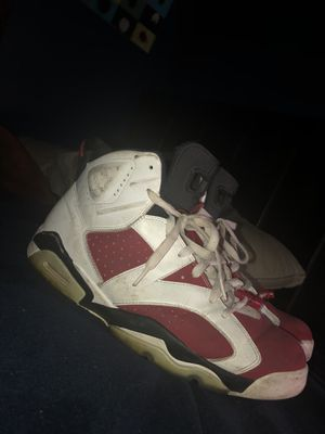 Jordan 6 Carmine for Sale in Rockleigh, NJ