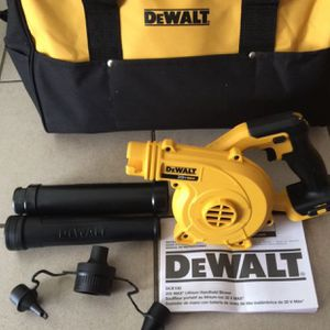 Dewalt lithium Handheld Blower 20v. $100 Tool Only 🔥means no battery no charger 🔥 Pick up in the city of Van Nuys for Sale in Beverly Hills, CA