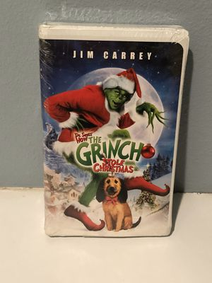 New Grinch Who Stole Christmas VHS Sealed for Sale in Hemet, CA