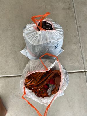 Bags of clothes and miscellaneous items for Sale in Clovis, CA