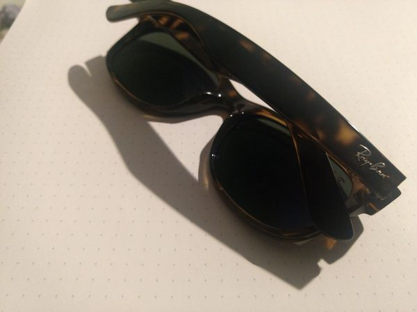 598e5ef656 Ray-Ban New Wayfarer Classic Tortoise Frame Men s Sunglasses ...