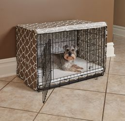 """MidWest QuietTime Defender Dog Crate Cover, Brown, 30""""L x 19""""W x 21""""H ( for Sale in Houston,  TX"""