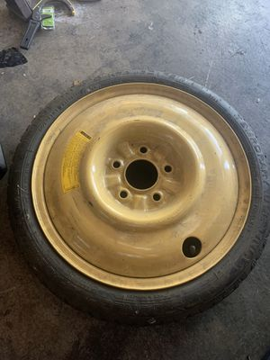 Newer spare tire n rim $10 I believe it's off Civic or Camry for Sale in Upland, CA
