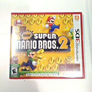 Super Mario Bros. 2 (Nintendo 3DS) BRAND NEW & SEALED for Sale in San Diego, CA