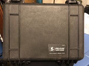Never use Pelican 1450 Case for Sale in Addison, TX