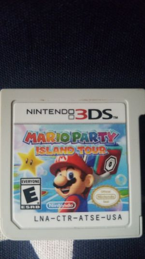 Mario Party: Island Tour (3DS) for Sale in Houston, TX