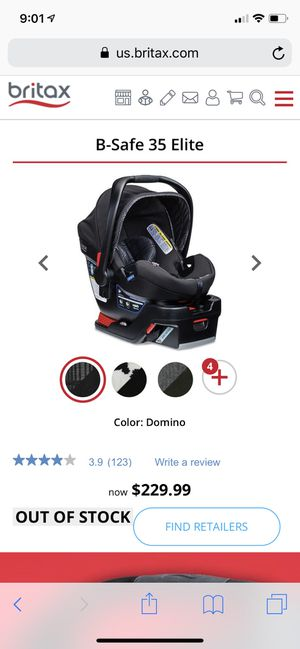 Brand new in box britax infant car seat for Sale in Fayetteville, NC