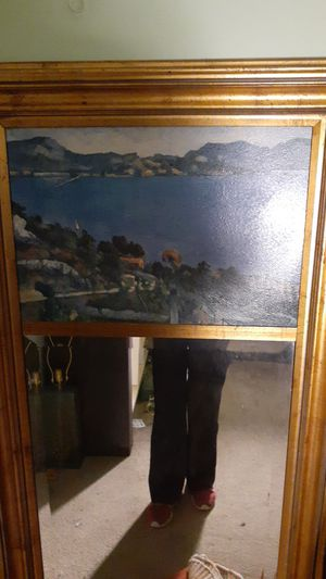 28x60 accent mirror with painting for Sale in Renton, WA