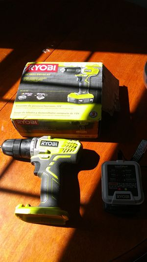 12v Ryobi Drill/Driver Kit for Sale in King of Prussia, PA