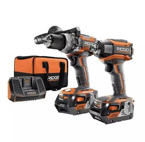 NEW - RIDGID R9205 Gen5X 18V Brushless Hammer Drill and Impact Driver Combo Kit for Sale in St. Petersburg, FL