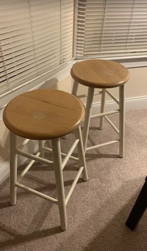 2 barstools and kitchen utility table for Sale in Rockville, MD