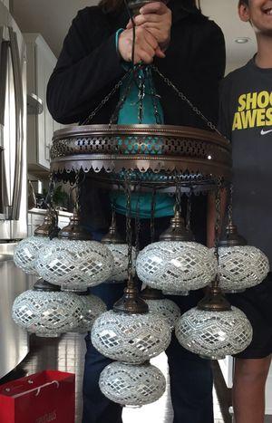 Turkish 13 lamp chandelier for Sale in Arlington, VA